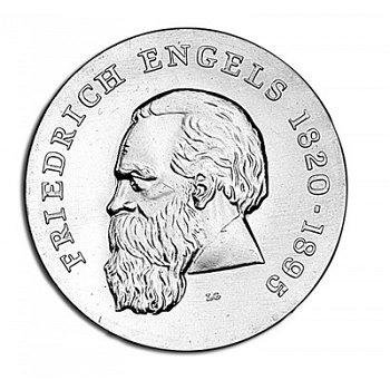 "20-Mark-Münze 1970 ""150. Geburtstag Friedrich Engels"", DDR"