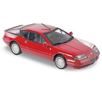 Modellauto:Renault Alpine GT V6 Turbo - 1.000 Miles 1989 -(Norev, 1:43)