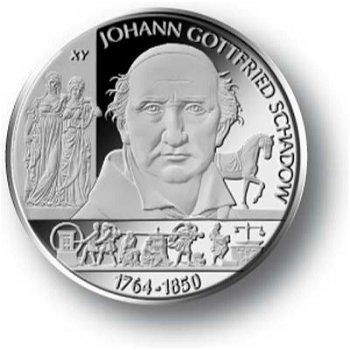 Johann Gottfried Schadow, 10-Euro-Gedenkmünze 2014, Stempelglanz