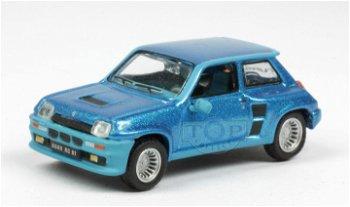 Modellauto:Renault 5 Turbo von 1980, blau(Norev, 1:87)