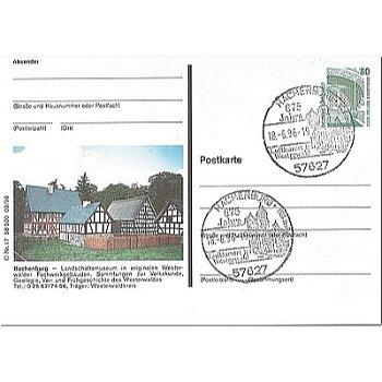 5238 Hachenburg - picture postcard & quot; Agricultural Museum & quot;