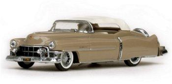 Modellauto:Cadillac Eldorado als geschlossenes Cabriolet von 1953, beige(Vitesse, 1:43)