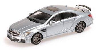Modellauto:Mercedes-Benz Brabus Rocket 800 von 2012, silber(Minichamps, 1:43)