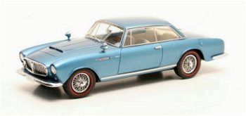 Modellauto:Alvis Super 3 Liter - Graber - Coupé von 1967, blau-metallic(Matrix, 1:43)