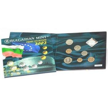 Kursmünzensatz 2002 - Bulgarien, Polierte Platte