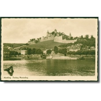"8700 Würzburg - Postkarte ""Festung"""