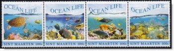 Leben im Wasser - 4 Briefmarken postfrisch, Sint Maarten