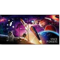 50 Jahre Mondlandung: Weltraumforschung - 3D-Block postfrisch, Neuseeland