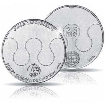 Sommerspiele 2016 Rio - Team Portugal, Kupfer-Nickel-Münze, Portugal