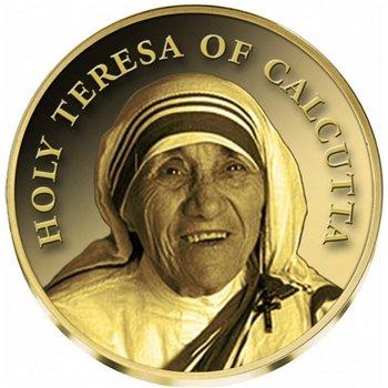 20. Todestag von Mutter Teresa, Goldmünze zur Heiligsprechung, Kongo