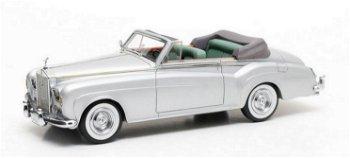 Modellauto:Rolls-Royce Silver Cloud IIIDrop Head Coupé- H.J. Mulliner Coachwork - von 1963, silber(M