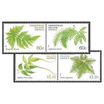 Farne - Briefmarken postfrisch, Weihnachtsinsel