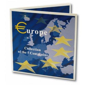 Europa Folder zur Euro Einführung