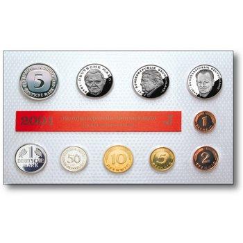 Die letzte Deutsche Mark, Kursmünzensatz 2001, Deutschland