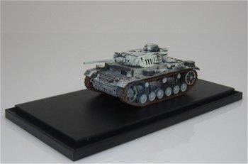 Militaria-Modell:Panzer III Ausführung L, 3. Pz Gren. Div., Rußland 1942(Panzerstahl, 1:72)