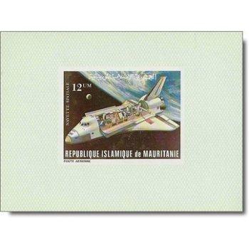 Erster Flug des Raumtransporters Space Shuttle - 4 Luxusblocks postfrisch, Katalog-Nr. 715-718, Maur