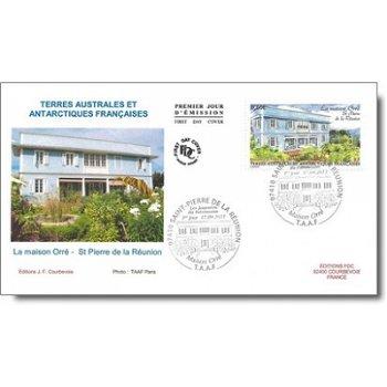 Präfektur auf Réunion – Ersttagsbrief, Katalog-Nr. 748, TAAF