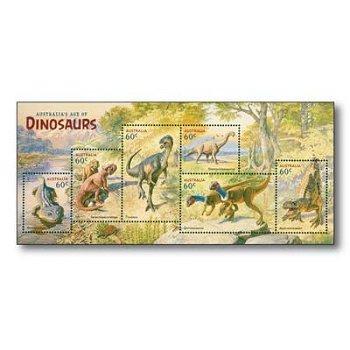 Dinosaurier - Briefmarken-Block postfrisch, Australien