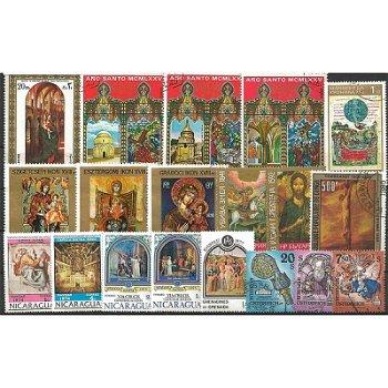 Religion - 200 verschiedene Briefmarken