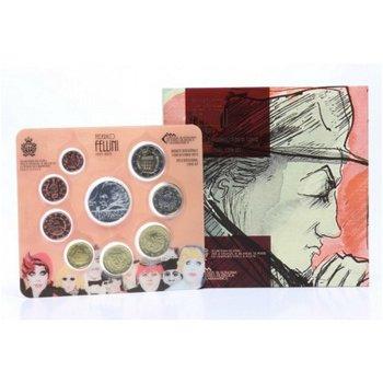 Euro-Kursmünzensatz 2013 - San Marino inkl. 5-Euro-Münze Federico Fellini
