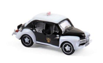 Modellauto:Renault 4 CV - Police - von 1955(Norev, 1:87)
