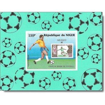 Fußballweltmeisterschaft 1986 - 4 Luxusblocks postfrisch, Katalog-Nr. 991-994, Niger