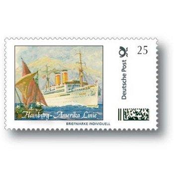Hamburg-America line - brand individually mint never hinged, Germany