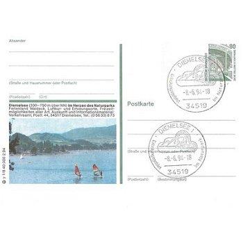 """3543 Diemelsee - Bildpostkarte """"Im Herzen des Naturparks"""""""