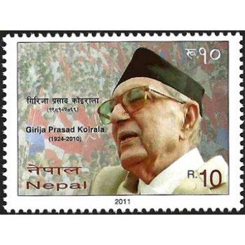 Girija Prasad Koirala – Briefmarke postfrisch, Nepal