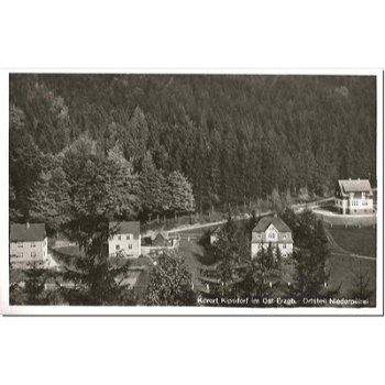 """8235 Kurort Kipsdorf - Postkarte """"Niederpöbel"""""""