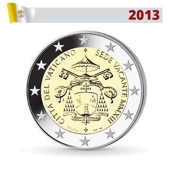 2 Euro Münze 2013, Sedisvakanz, Vatikan