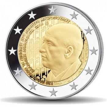 120. Geburtstag Dimitri Mitropoulos, 2 Euro Münze 2016, Griechenland