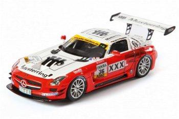 """Mercedes-Benz SLS AMG GT3 # 36 """"MS Racing"""" - Mayer/Götz(Schuco, 1:43)"""