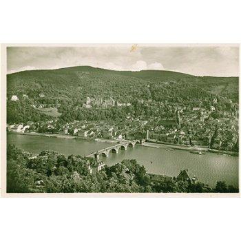 "6900 Heidelberg - Postkarte ""Stadtansicht"""