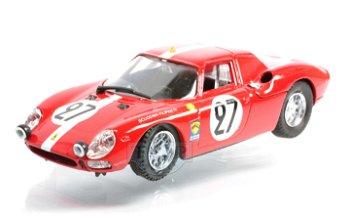 Modellauto:Ferrari 250 LM - Le Mans 1965 - mit # 27(Best, 1:43)