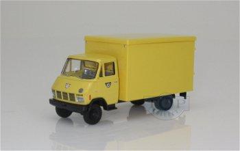 Modell-LKW:Steyr 690 Koffer von 1969- Österreichische Post -(Brekina, 1:87)