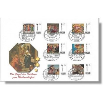 Angel of the Vatican - Luxury Christmas Letter, Germany