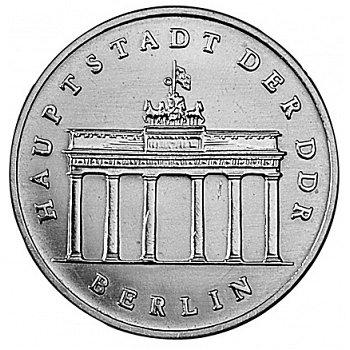 "5-Mark-Münze 1971 ""Brandenburger Tor"", DDR"