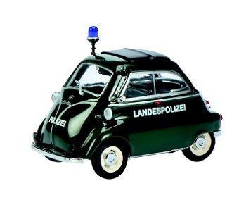 Modellauto:BMW Isetta - Landespolizei -, grün(Schuco, 1:43)