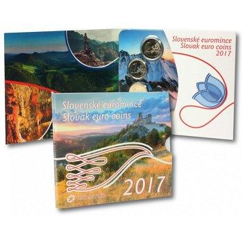 Kursmünzensatz 2017 Stempelglanz, Slowakei