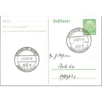 7600 Offenburg / Baden - postal stationery & quot; Südwestmarslager & quot;