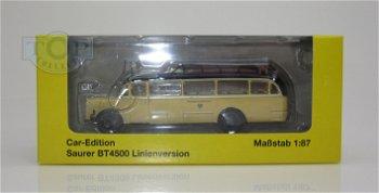 Modell-Bus:Saurer BT 4500 Linienversion- Österreichische Post -(Starline Models, 1:87)