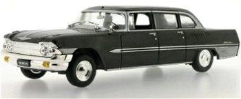 Modellauto:ZIL 111 G von 1965, schwarz(IST Models, 1:43)