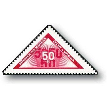 Eigenhändige Zustellung - Briefmarke postfrisch, Katalog-Nr. 15, Böhmen und Mähren