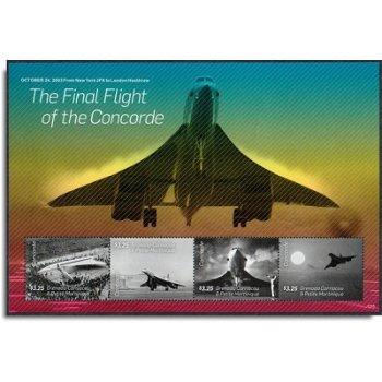 Concorde, der letzte Flug - Block postfrisch, Grenada Carriacou & Petite Martinique