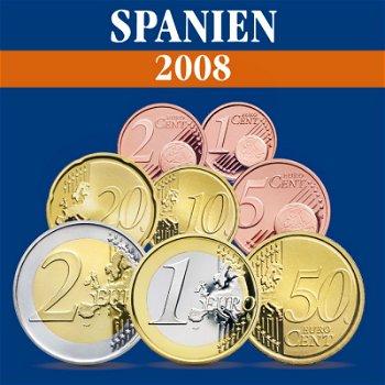 Spanien - Kursmünzensatz 2008