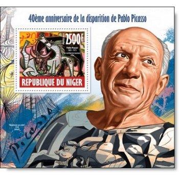 Pablo Picasso - Briefmarkenblock postfrisch, Niger