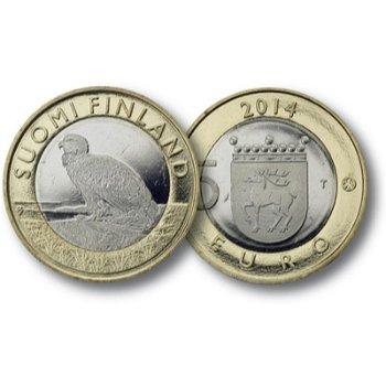 Der Seeadler, 5 Euro Münze Finnland