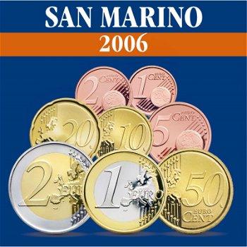 San Marino - Kursmünzensatz 2006