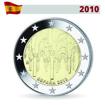 "2 Euro Münze 201, Kathedrale von Cordoba"", Spanien"
